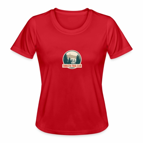 Tawastia Trail Logo - Naisten tekninen t-paita