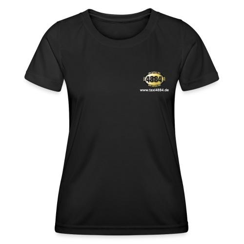 Logo vorn und hinten hell - Frauen Funktions-T-Shirt