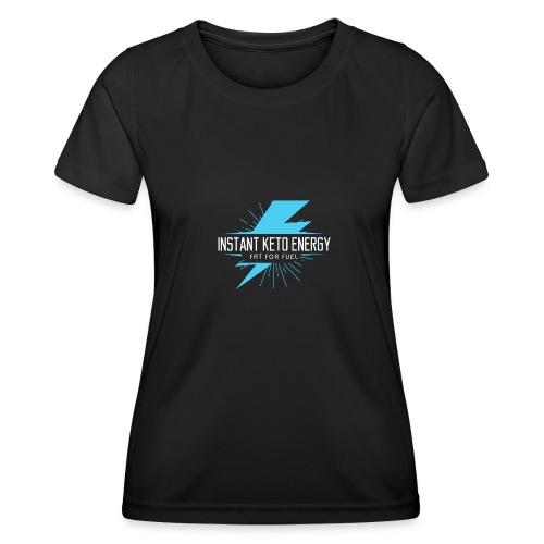 instantketoenergy - Frauen Funktions-T-Shirt
