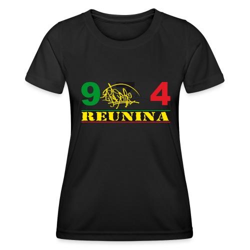 974 ker kreol ikon rasta 01 - T-shirt sport Femme