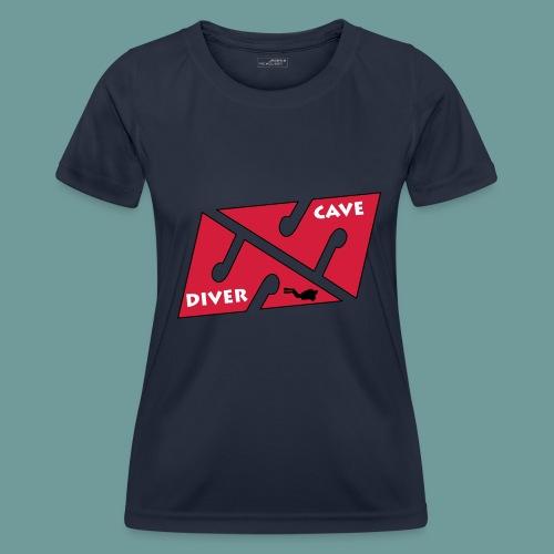 cave_diver_01 - T-shirt sport Femme