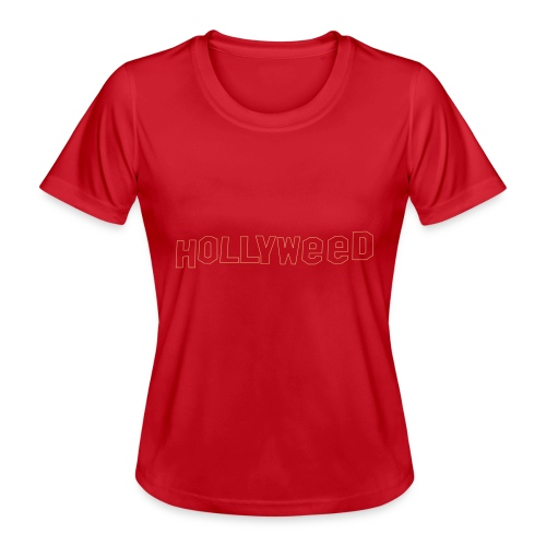 Hollyweed shirt - T-shirt sport Femme