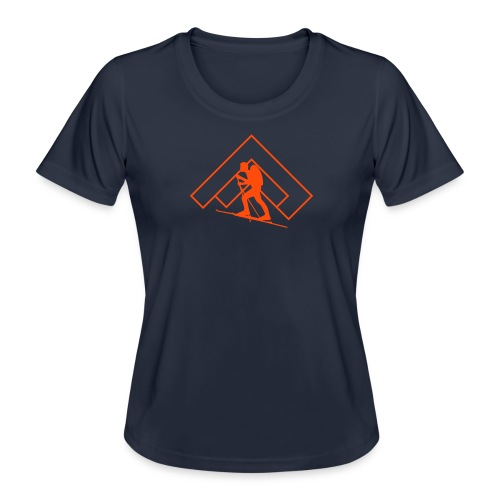 Skitour - Frauen Funktions-T-Shirt