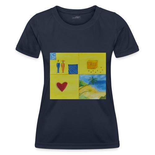 Viererwunsch - Frauen Funktions-T-Shirt