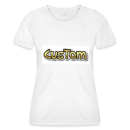 CusTom GOLD LIMETED EDITION - Functioneel T-shirt voor vrouwen