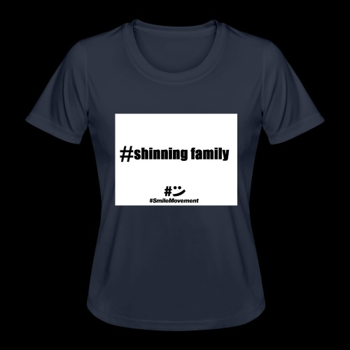 shinning family - T-shirt sport Femme