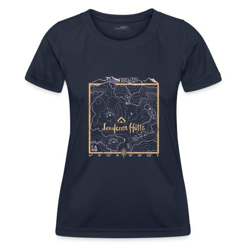 Laufener Hütte im Tennengebirge - Taco Yellow - Women's Functional T-Shirt