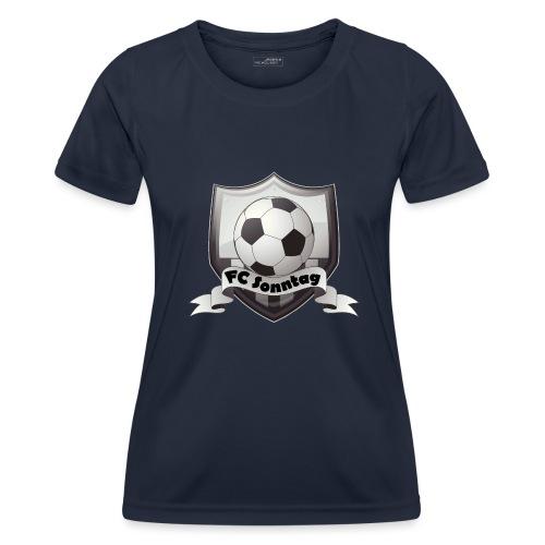 FC Sonntag Logo - Frauen Funktions-T-Shirt