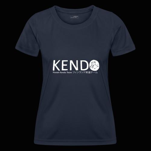 Finnish Kendo Team Text - Naisten tekninen t-paita