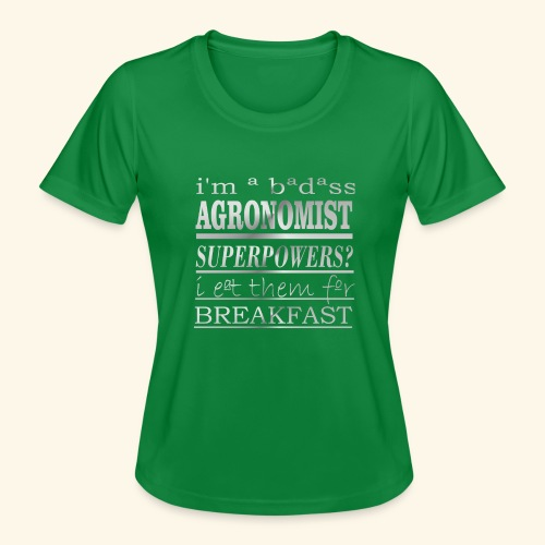 AGRONOMIST - Maglietta sportiva per donna