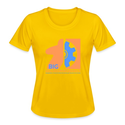 BIG - Maglietta sportiva per donna