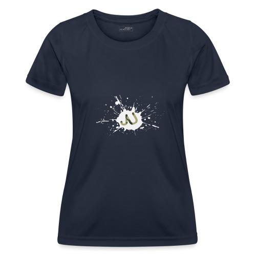logo2 6 pinkki - Naisten tekninen t-paita