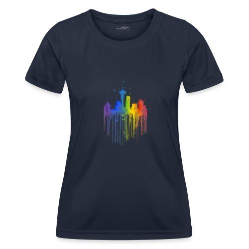 Ville artistique - T-shirt sport Femme