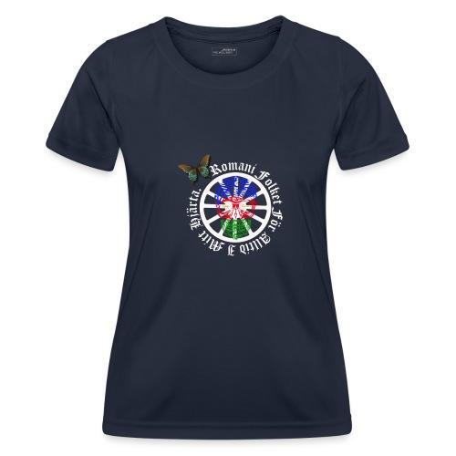 LennyhjulRomaniFolketivitfjerliskulle - Funktions-T-shirt dam