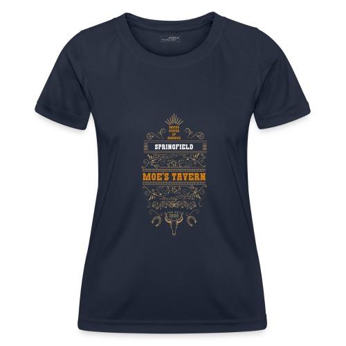 Springfield Moe's Tavern - Funkcjonalna koszulka damska
