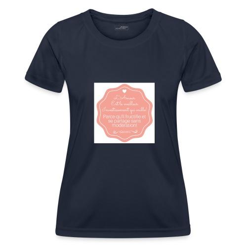Amour - T-shirt sport Femme