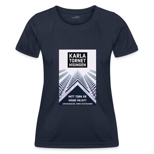 Karlatornet - Funktions-T-shirt dam