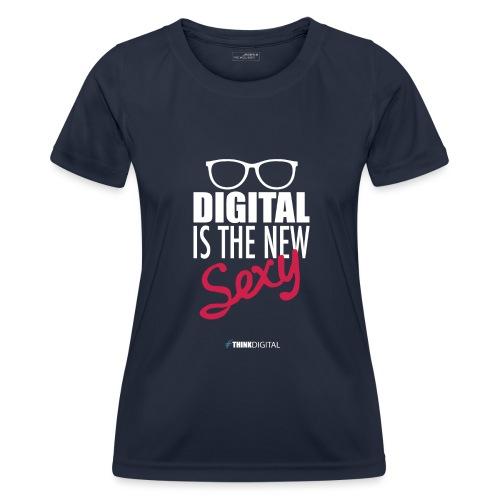DIGITAL is the New Sexy - Lady - Maglietta sportiva per donna