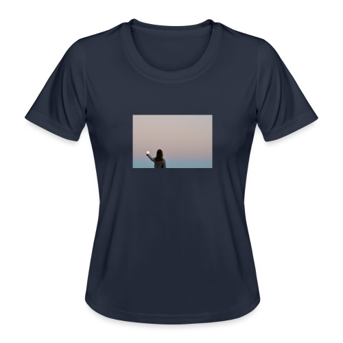 MOON - Naisten tekninen t-paita