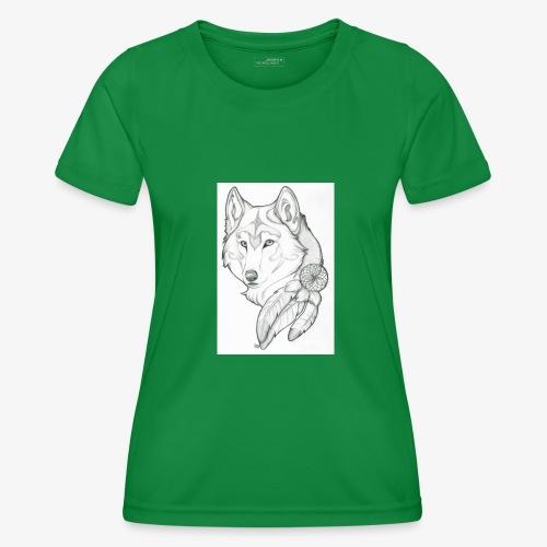 wolf - Functioneel T-shirt voor vrouwen