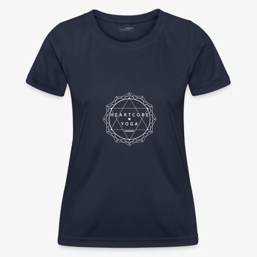 Heartcore Yoga apparel - Functioneel T-shirt voor vrouwen