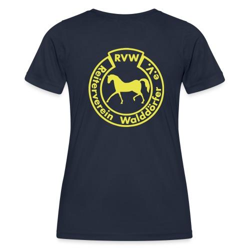 RVW Logo gelb - Frauen Funktions-T-Shirt