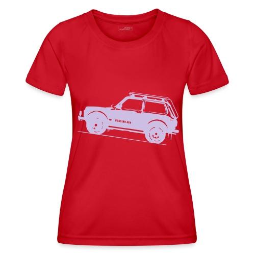 Lada Niva 2121 Russin 4x4 - Frauen Funktions-T-Shirt