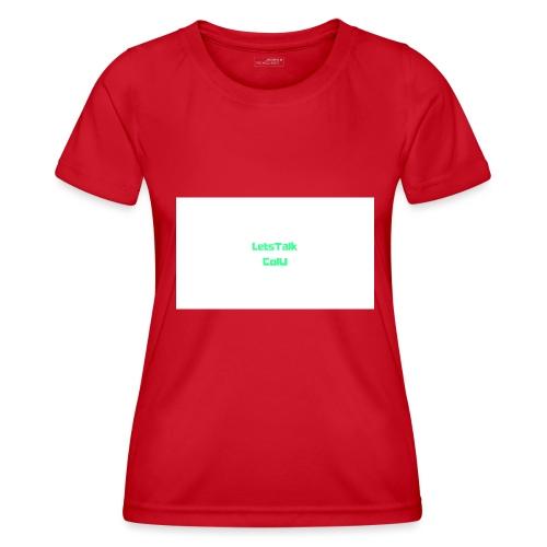 LetsTalk ColU - Women's Functional T-Shirt