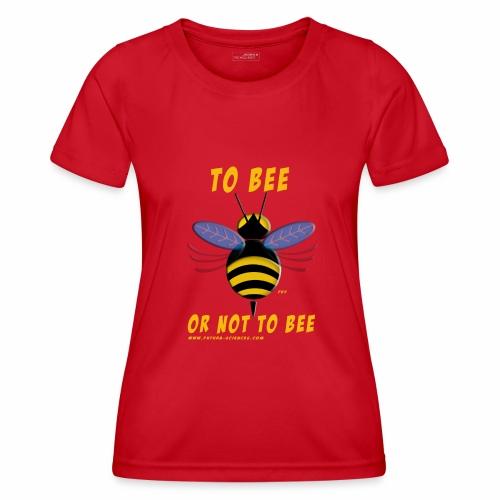 Bee Jaune - T-shirt sport Femme
