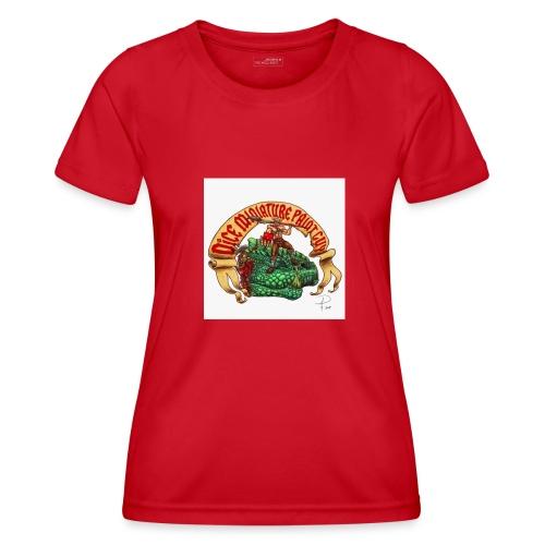 DiceMiniaturePaintGuy - Women's Functional T-Shirt