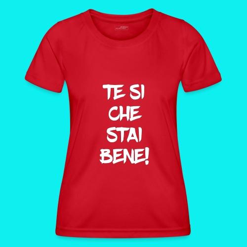 tesiokok - Maglietta sportiva per donna