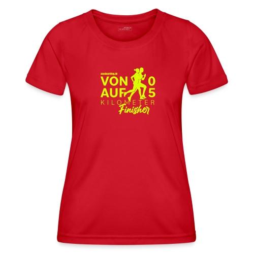 Von 0 auf 5km - Finisher Edition2021 - Frauen Funktions-T-Shirt