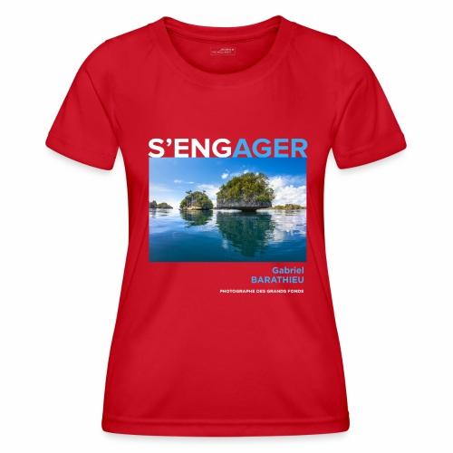 1 Achat = 1 don Fondation - T-shirt sport Femme