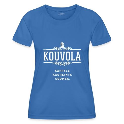 Kouvola - Kappale kauheinta Suomea. - Naisten tekninen t-paita