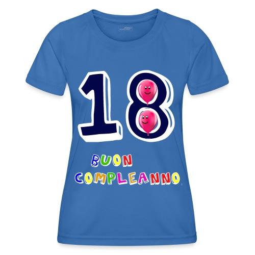 18th birthday - Maglietta sportiva per donna