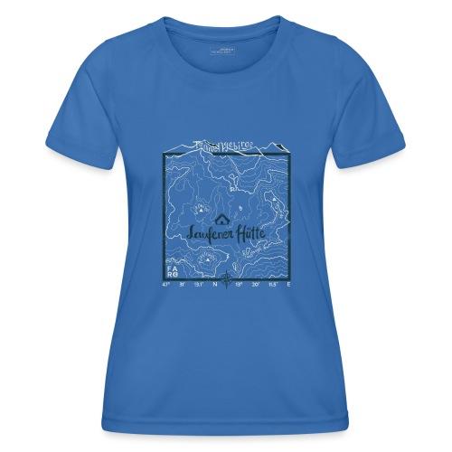 Laufener Hütte im Tennengebirge - Green - Women's Functional T-Shirt