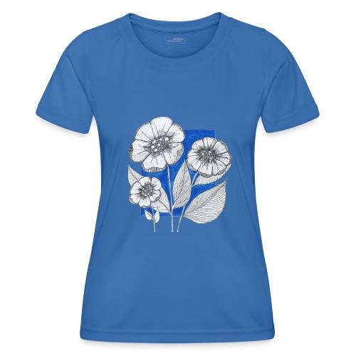 Fiori - Maglietta sportiva per donna