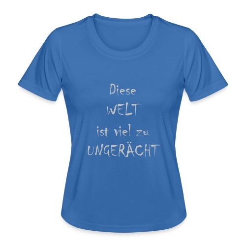 WORTKunstwort 21.3 - Frauen Funktions-T-Shirt