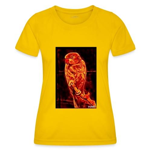 Bird in flames - Naisten tekninen t-paita