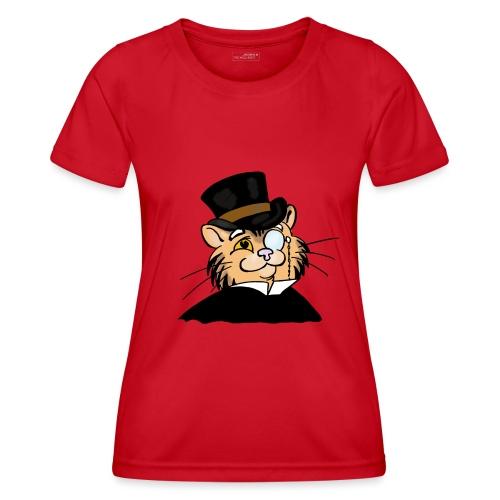 Gatto nonno - Maglietta sportiva per donna