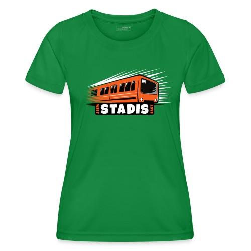 STADISsa METRO T-Shirts, Hoodies, Clothes, Gifts - Naisten tekninen t-paita