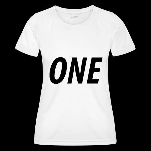 WEAREONE x LETTERS - Functioneel T-shirt voor vrouwen