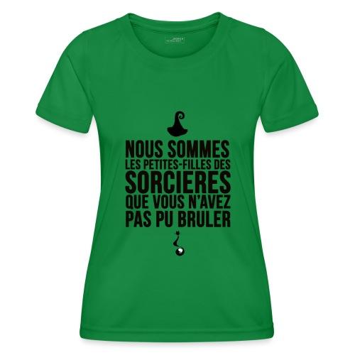 filles de sorcières - T-shirt sport Femme