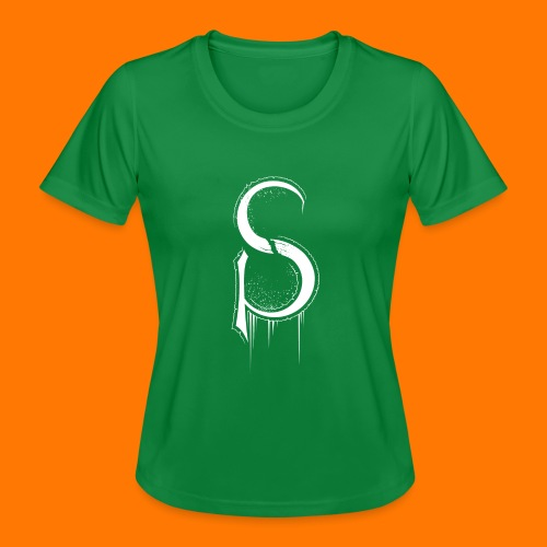 SCP-sign-WHITE transp - Women's Functional T-Shirt