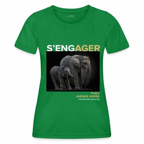 1 Achat = 1 Don à l'association Rainfer - T-shirt sport Femme