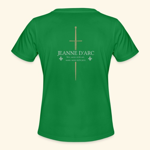 Jeanne d arc - Frauen Funktions-T-Shirt