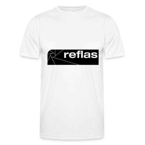 Reflas Clothing Black/Gray - Maglietta sportiva per uomo
