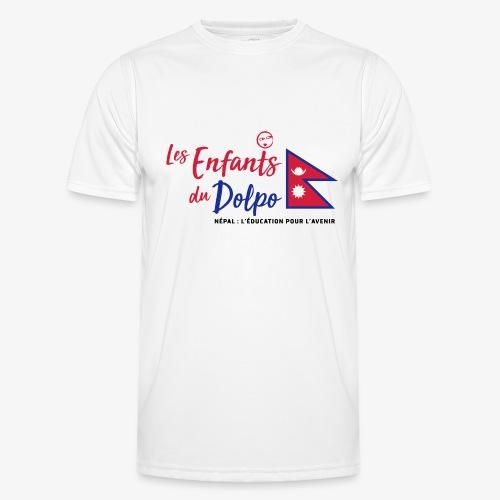 Les Enfants du Doplo - Grand Logo Centré - T-shirt sport Homme