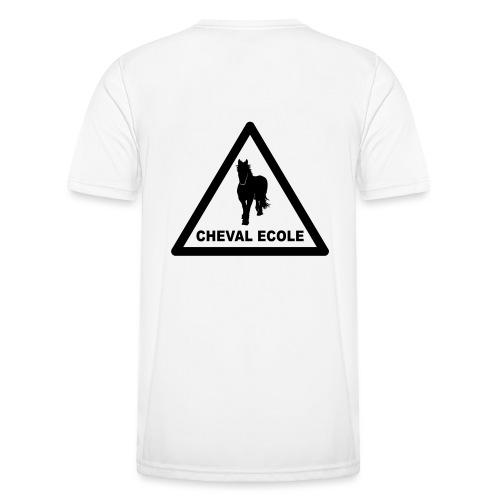 chevalecoletshirt - T-shirt sport Homme