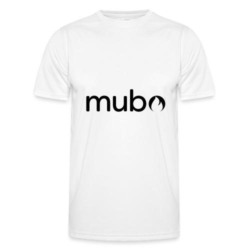 mubo Logo Word Black - Men's Functional T-Shirt
